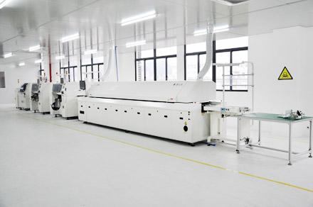 SAJ nyomtatott áramkör gyártósora